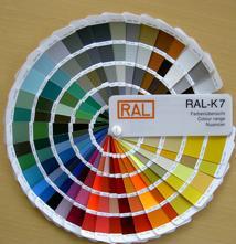 Pulverbeschichtung Farben